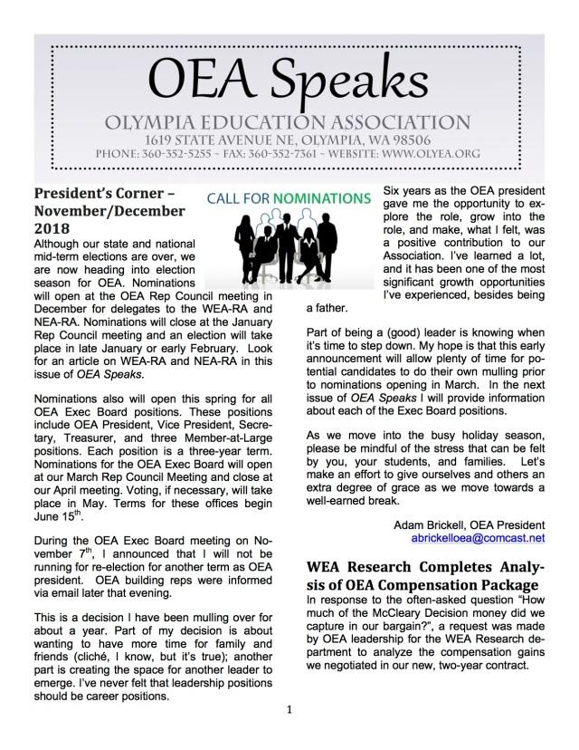 11-1-18 OEA Speaks