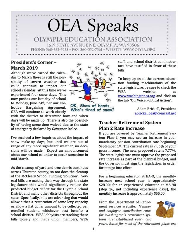 3-1-19 OEA Speaks